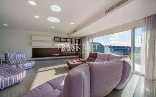 Spacious Furnished Apartment in Ta'Xbiex