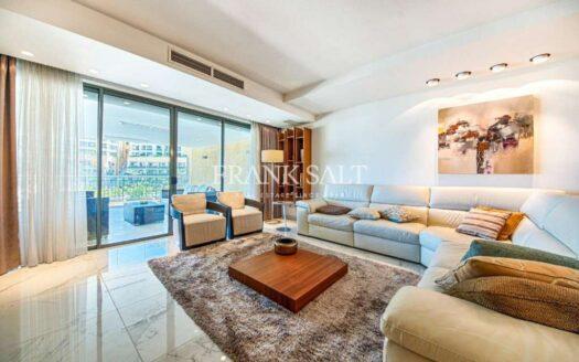 Magnificent Finished Apartment in Portomaso