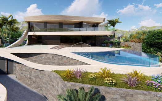 beautiful design villa, area of Javea