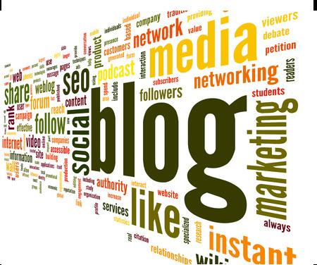 social media blog, facebook, twitter, instagram, linkedin, pinterest